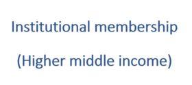 Institutional membership 2