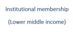 Institutional membership 3
